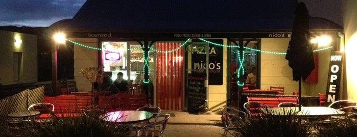 Nico's Pizza and Pasta is one of Tempat yang Disukai David.