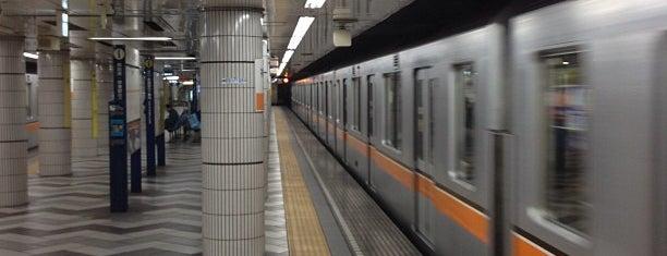 Ginza Line Kanda Station (G13) is one of Tokyo - Yokohama train stations.