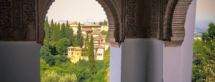 La Alhambra y el Generalife is one of Pumkyさんのお気に入りスポット.