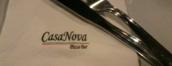 Casa Nova Pizzaria is one of Locais curtidos por Alisson.