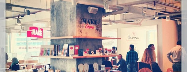 MAKE Business Hub is one of Entrepreneur Work Spots.