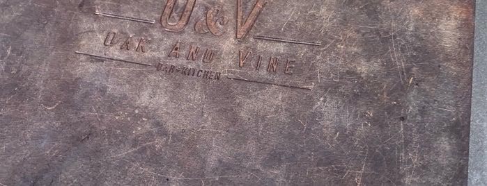 The Oak and Vine is one of Locais salvos de Kyle.