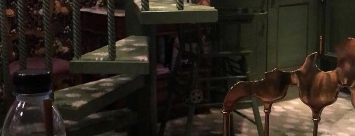 Bangkok интерьерные кафе