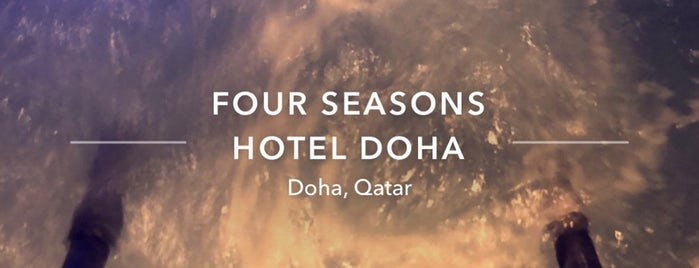 Spa at Four Seasons Hotel Doha is one of QATAR.