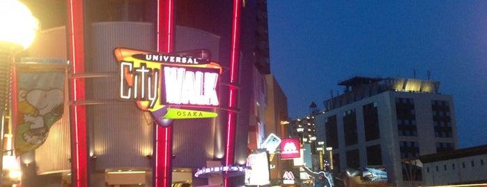 Universal City Walk Osaka is one of Osaka Eats/Drinks/Shopping/Stays.
