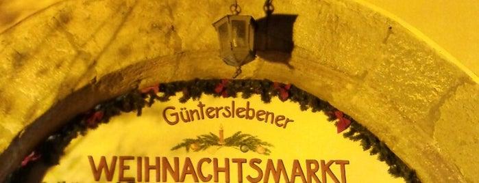 Weihnachtsmarkt Güntersleben is one of Weihnachtsmärkte 2.