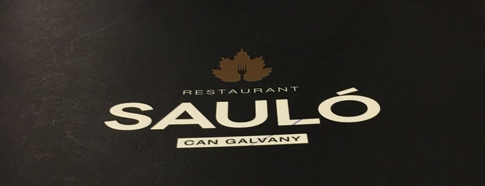 Restaurant Sauló is one of Restaurantes con encanto.
