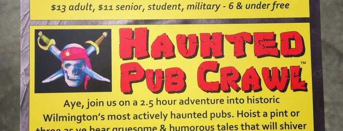 Haunted Pub Crawl is one of Trudy's list.