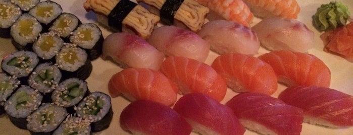 Sushi Wang is one of สถานที่ที่ Juls ถูกใจ.