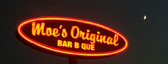 Moe's Original BBQ is one of Rocky Mountain High.