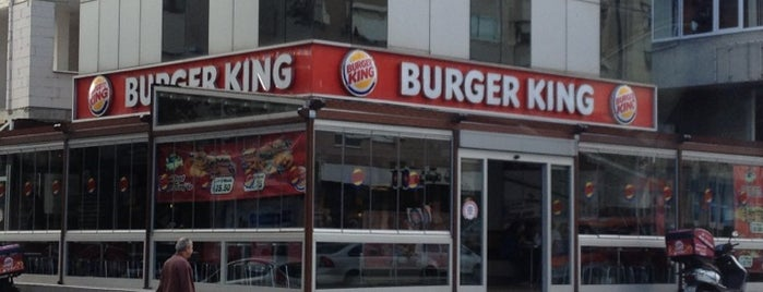 Burger King is one of Istanbul.