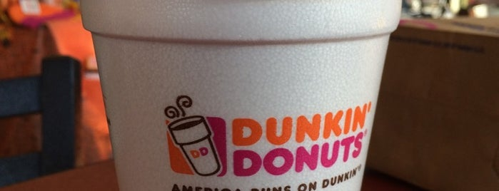 Dunkin' is one of Locais salvos de David.