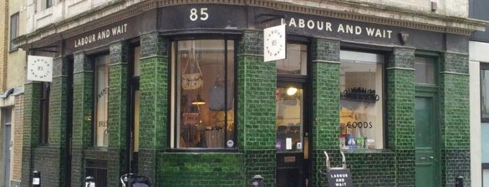 Labour and Wait is one of À faire à Londres.