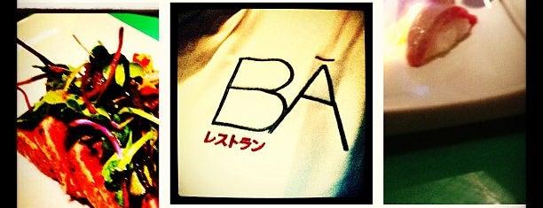 BĀ is one of Japos en Malaga.