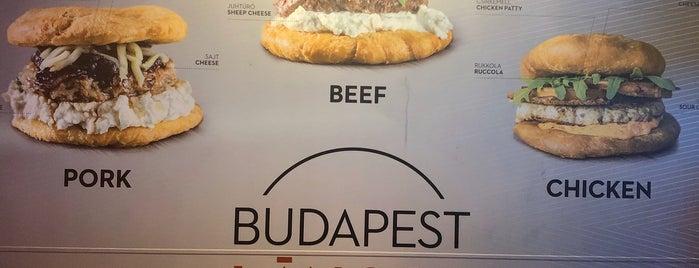 Lángos Máshogy is one of Vegan Budapest.