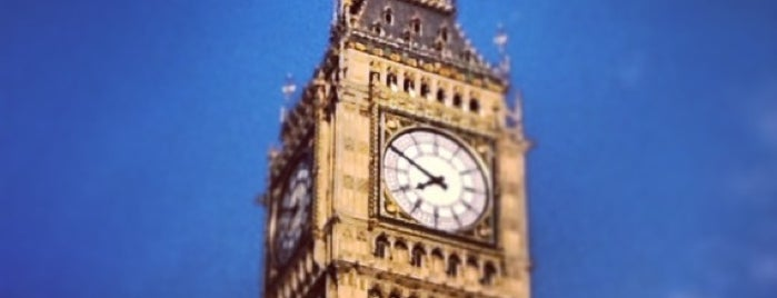 Elizabeth Tower (Big Ben) is one of Go Ahead, Be A Tourist.