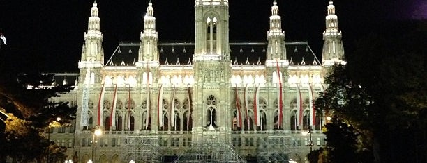 Wiener Rathaus is one of Vienna.