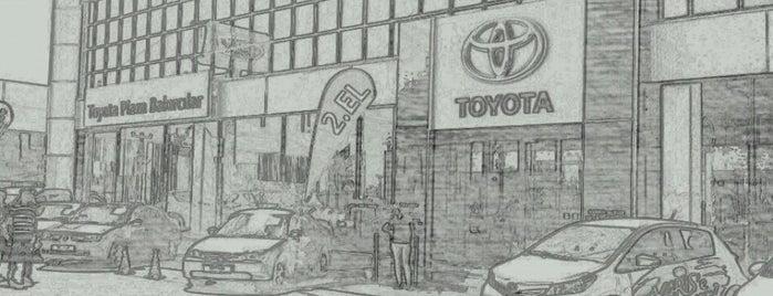 Toyota Plaza Bakırcılar Antalya is one of Posti che sono piaciuti a Haydar.