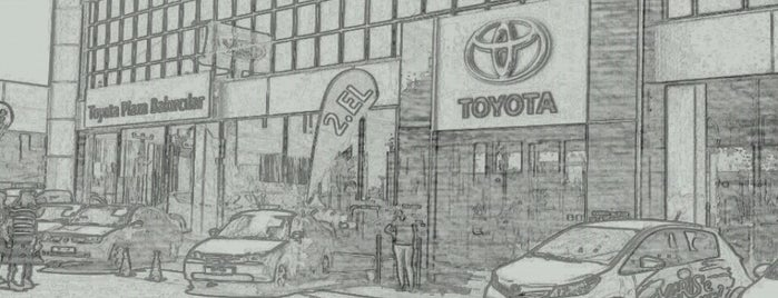 Toyota Plaza Bakırcılar Antalya is one of Haydar 님이 좋아한 장소.