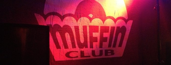 Muffin Club is one of Garitos / Bares / Salas HipHop.