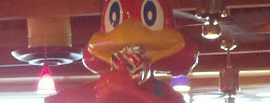 Red Robin Gourmet Burgers and Brews is one of Big Bear Lake (Anti-Zombie Survival).