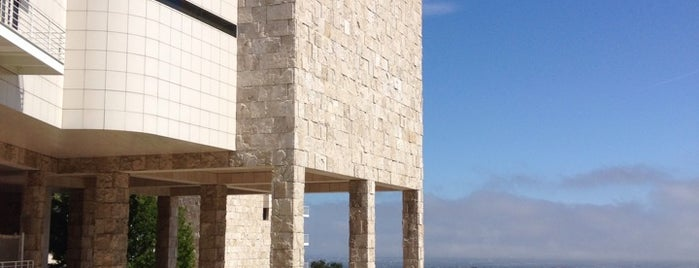 J. Paul Getty Museum is one of LA todos.