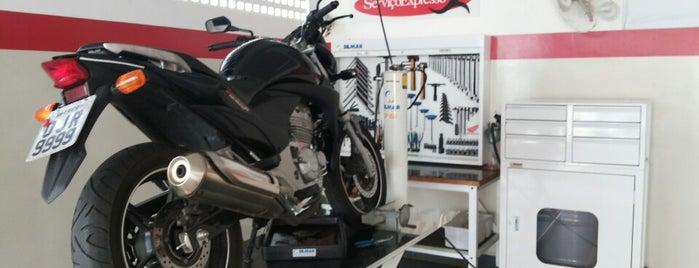 Mototec Honda is one of Locais curtidos por Seymour.