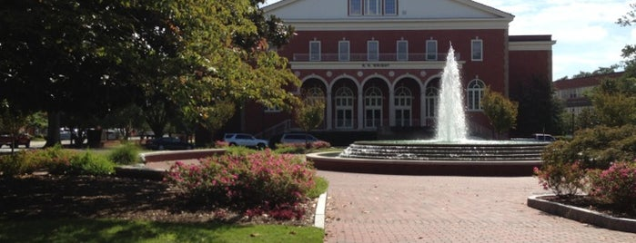 East Carolina University is one of North Carolina.