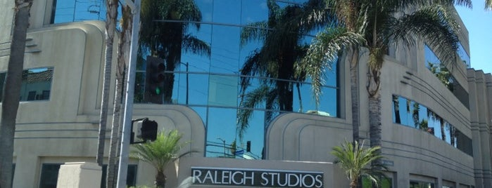 Raleigh Studios Hollywood is one of US18: Los Angeles.