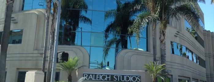 Raleigh Studios Hollywood is one of US18: Los Angeles.