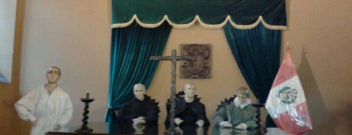 Museo del Tribunal de la Santa Inquisición y del Congreso is one of Jonathan'ın Beğendiği Mekanlar.