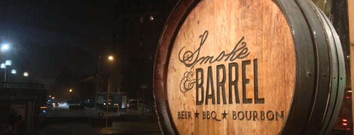 Smoke & Barrel is one of Date night!.