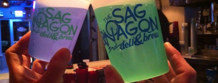 Sag Wagon Deli & Brew is one of Iowa.