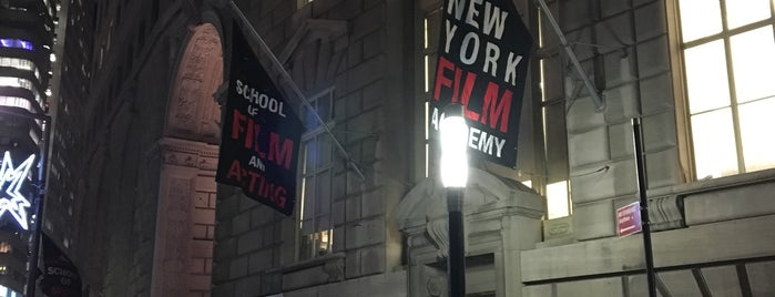 New York Film Academy School Of Film And Acting is one of Ginger'in Beğendiği Mekanlar.