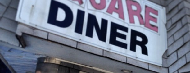 Square Diner is one of My hood.