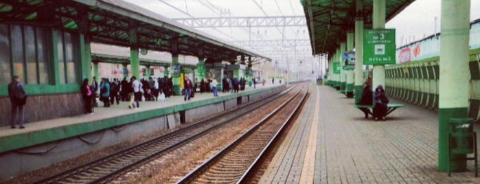 Vykhino Railway Station is one of Частые.