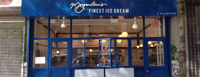 Morgenstern's Finest Ice Cream is one of NY sweets.