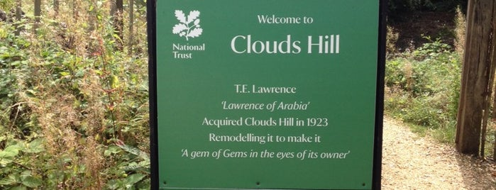 Clouds Hill is one of Carl 님이 좋아한 장소.
