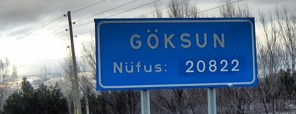 Göksun is one of Lugares favoritos de Güçlü.