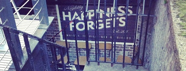 Happiness Forgets is one of Good Bars.