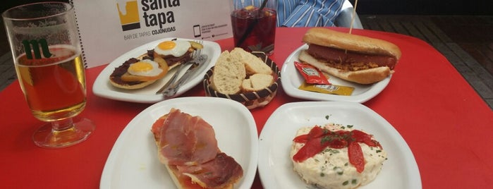La Santa Tapa is one of Madrid.