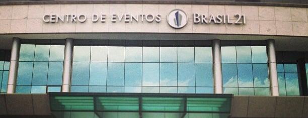 Centro de Convenções Brasil 21 is one of สถานที่ที่ Mariana ถูกใจ.