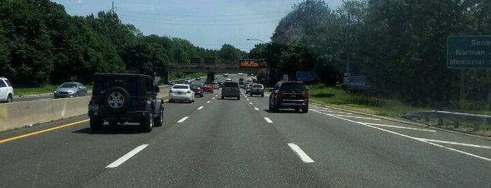 Meadowbrook Parkway is one of Long Island highways and crossings.