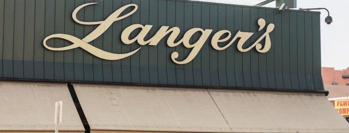 Langer's Delicatessen-Restaurant is one of Los Angeles.