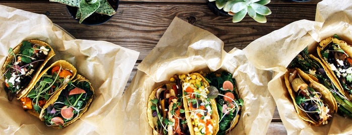 Chaia Tacos is one of Bon Appetit City Guide to D.C..