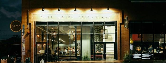 Restaurant Alma is one of Best New Restaurants in America 2017.