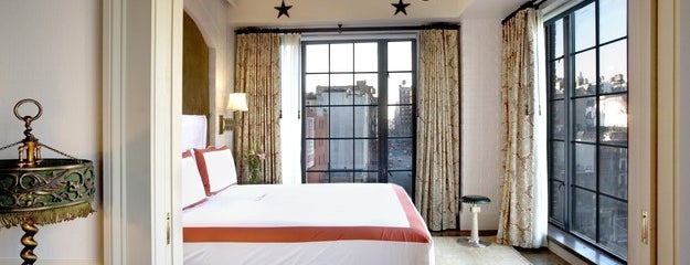 The Bowery Hotel is one of Bon Appétit City Guide to New York.