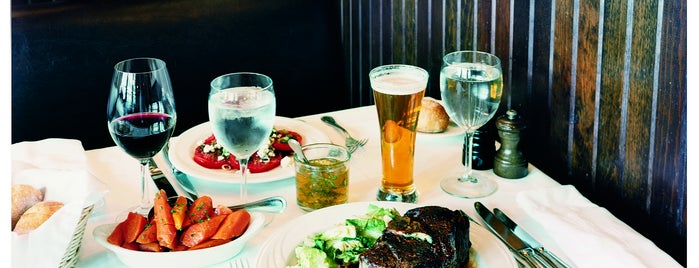 Keens Steakhouse is one of Bon Appétit City Guide to New York.