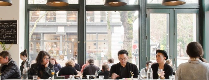 The London Plane is one of The 10 Most Healthyish Restaurants in America.