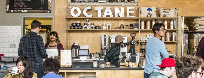 Octane Coffee is one of ATLiens in the Outfield.